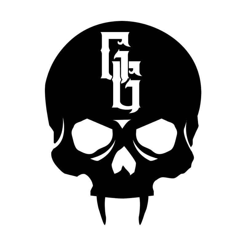 Gehenna Gaming Skull Logo (No Text) Home Throw Pillow by The Gehenna Gaming Shop