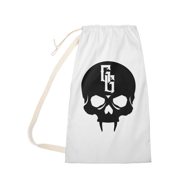 Gehenna Gaming Skull Logo (No Text) Accessories Laundry Bag Bag by The Gehenna Gaming Shop