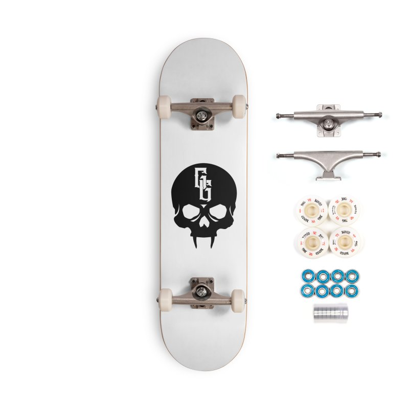 Gehenna Gaming Skull Logo (No Text) Accessories Complete - Premium Skateboard by The Gehenna Gaming Shop