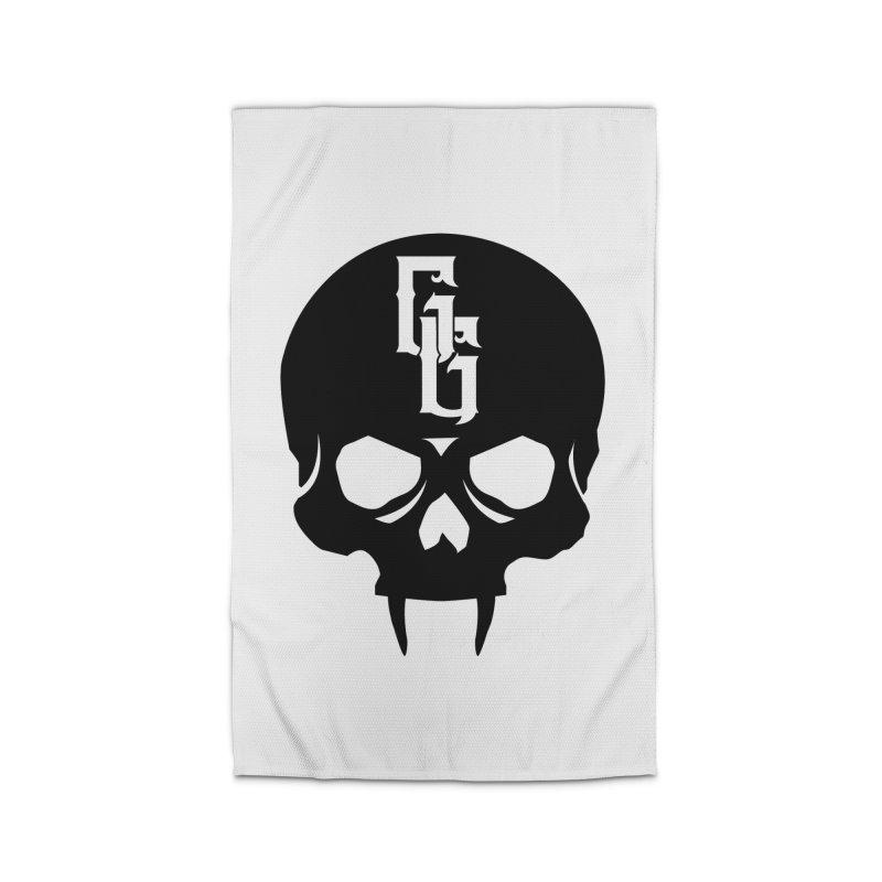 Gehenna Gaming Skull Logo (No Text) Home Rug by The Gehenna Gaming Shop