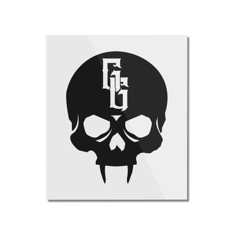 Gehenna Gaming Skull Logo (No Text) Home Mounted Acrylic Print by GehennaGaming's Artist Shop