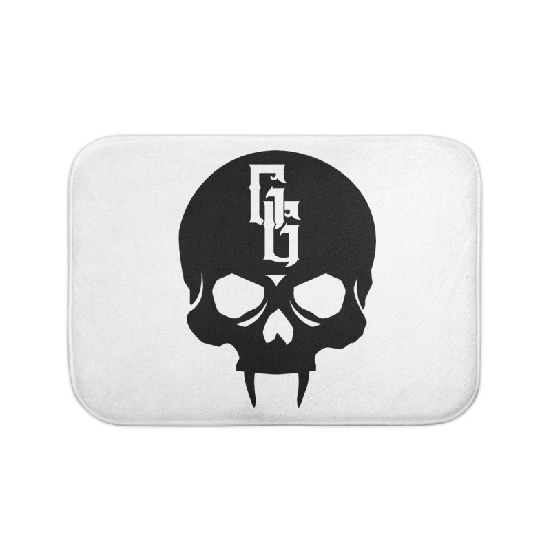 Gehenna Gaming Skull Logo (No Text) Home Bath Mat by GehennaGaming's Artist Shop