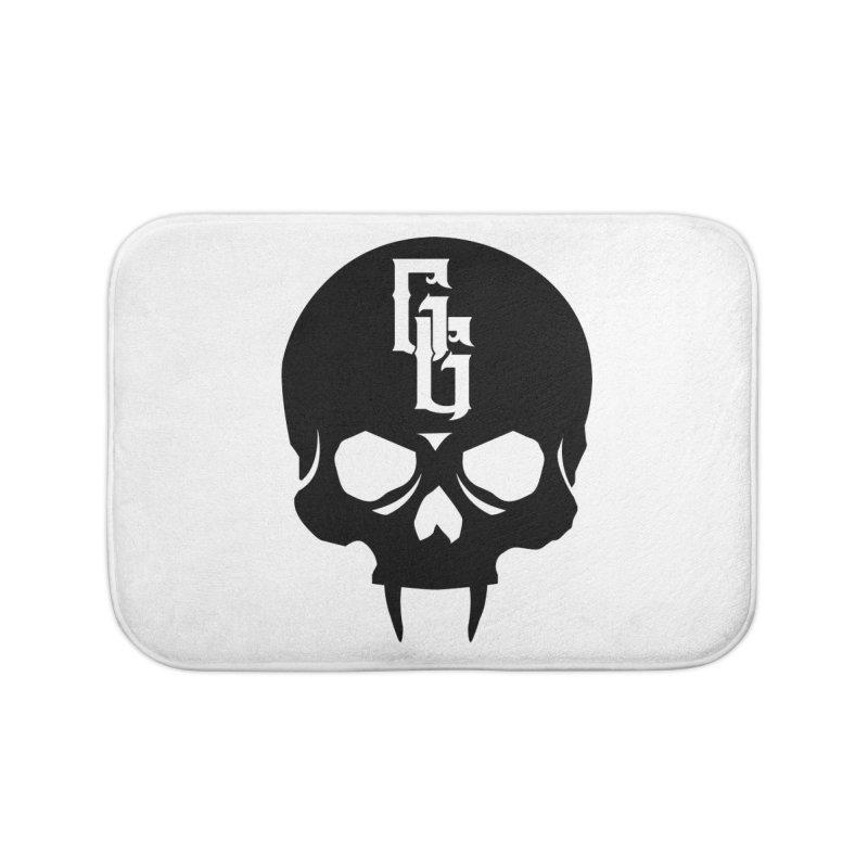 Gehenna Gaming Skull Logo (No Text) Home Bath Mat by The Gehenna Gaming Shop