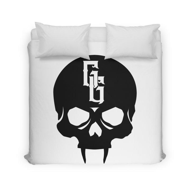 Gehenna Gaming Skull Logo (No Text) Home Duvet by GehennaGaming's Artist Shop