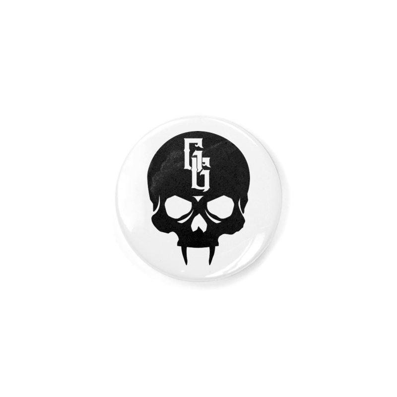 Gehenna Gaming Skull Logo (No Text) Accessories Button by GehennaGaming's Artist Shop