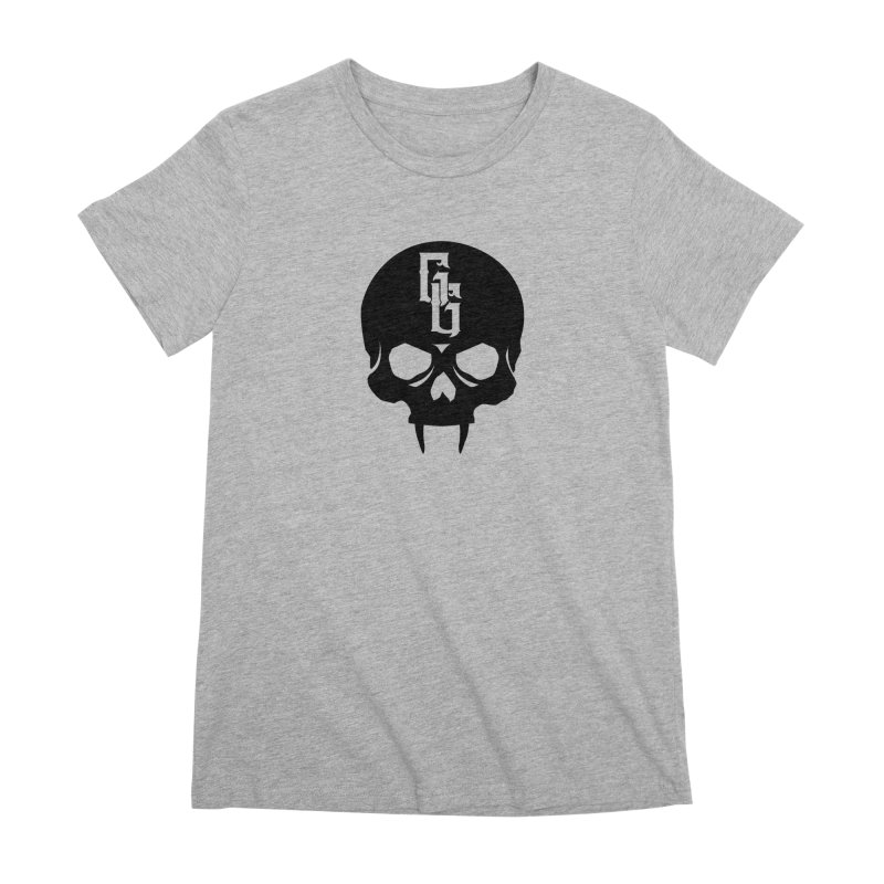 Gehenna Gaming Skull Logo (No Text) Women's Premium T-Shirt by The Gehenna Gaming Shop