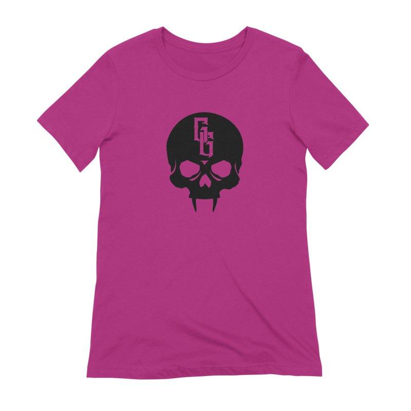 Gehenna Gaming Skull Logo (No Text) Women's Extra Soft T-Shirt by GehennaGaming's Artist Shop