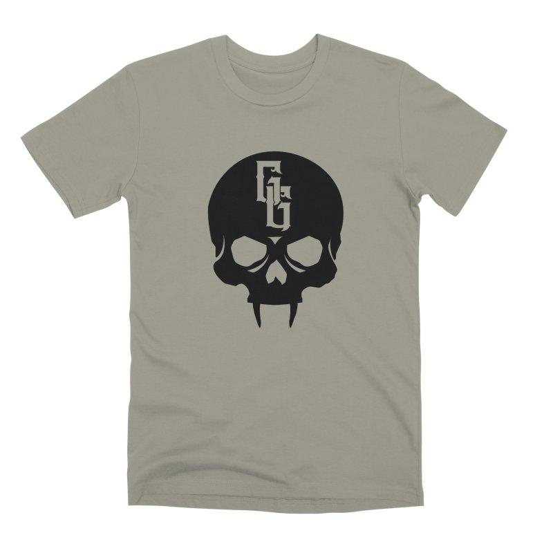 Gehenna Gaming Skull Logo (No Text) Men's Premium T-Shirt by The Gehenna Gaming Shop