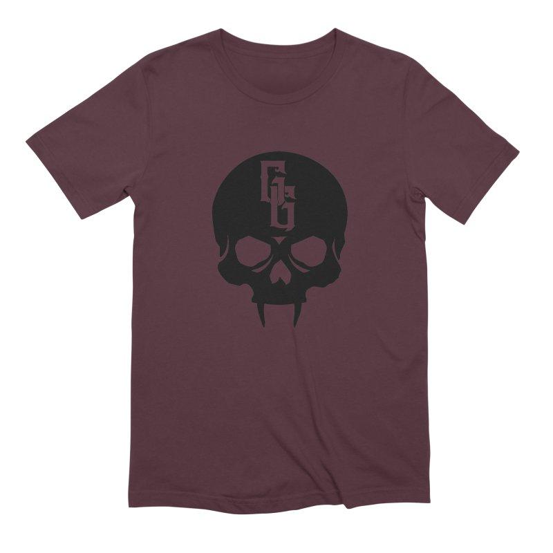Gehenna Gaming Skull Logo (No Text) Men's Extra Soft T-Shirt by GehennaGaming's Artist Shop