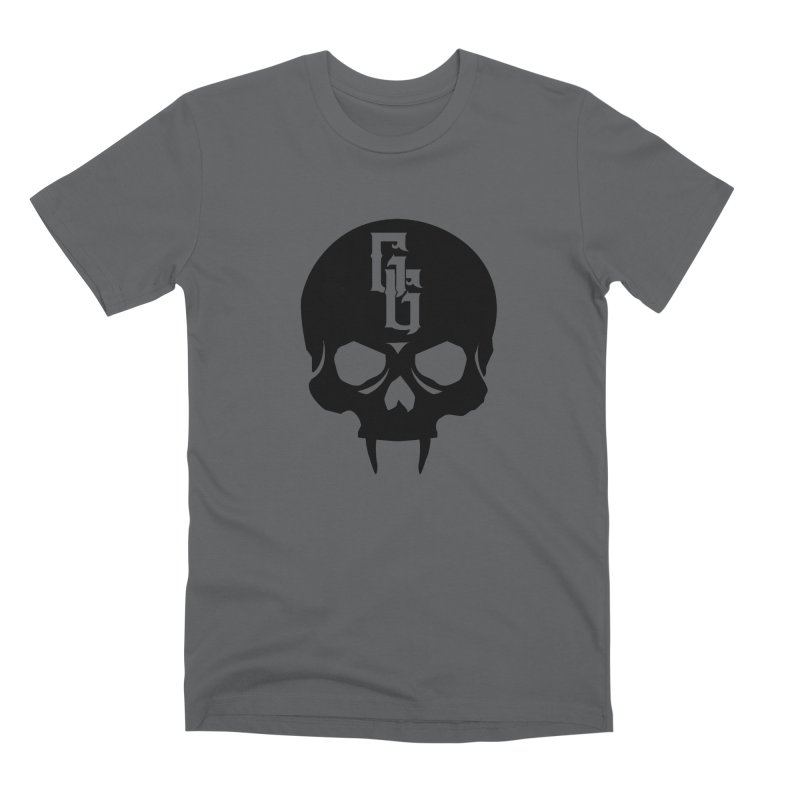 Gehenna Gaming Skull Logo (No Text) Men's Premium T-Shirt by The Gehenna Gaming Shop