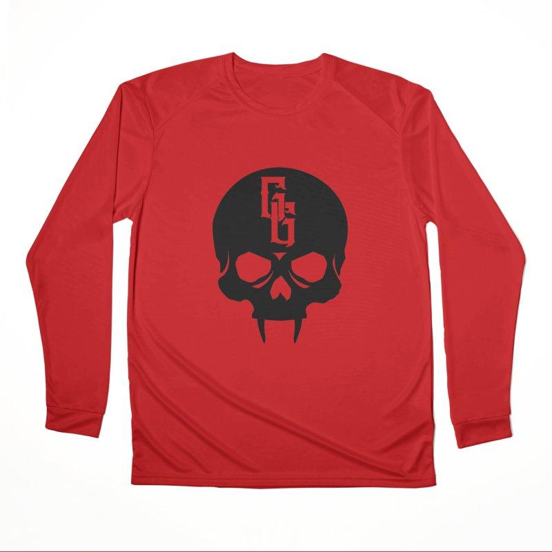 Gehenna Gaming Skull Logo (No Text) Men's Performance Longsleeve T-Shirt by The Gehenna Gaming Shop