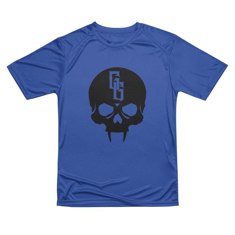 Gehenna Gaming Skull Logo (No Text) Women's Performance Unisex T-Shirt by The Gehenna Gaming Shop