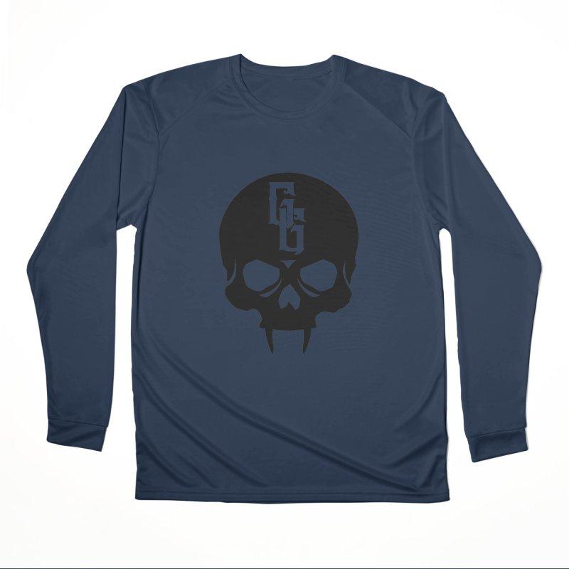 Gehenna Gaming Skull Logo (No Text) Women's Performance Unisex Longsleeve T-Shirt by The Gehenna Gaming Shop