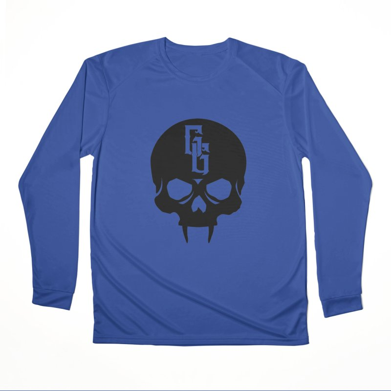 Gehenna Gaming Skull Logo (No Text) Women's Performance Unisex Longsleeve T-Shirt by GehennaGaming's Artist Shop