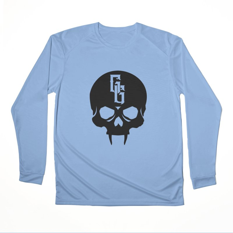 Gehenna Gaming Skull Logo (No Text) Women's Performance Unisex Longsleeve T-Shirt by The Gehenna Gaming Shop