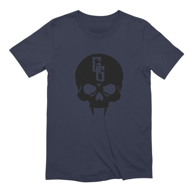 Gehenna Gaming Skull Logo (No Text) Men's Extra Soft T-Shirt by GehennaGaming's Artist Shop