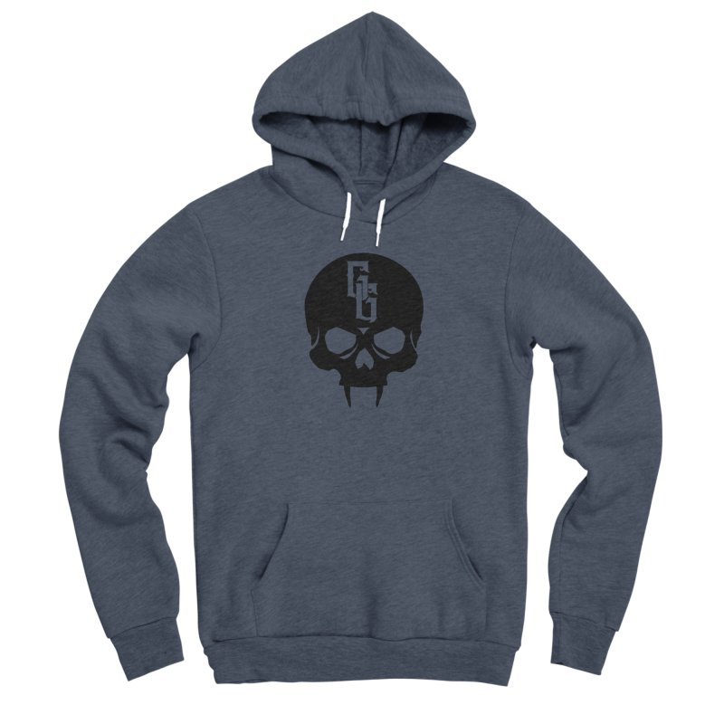 Gehenna Gaming Skull Logo (No Text) Women's Sponge Fleece Pullover Hoody by The Gehenna Gaming Shop