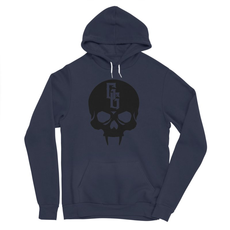 Gehenna Gaming Skull Logo (No Text) Men's Sponge Fleece Pullover Hoody by GehennaGaming's Artist Shop
