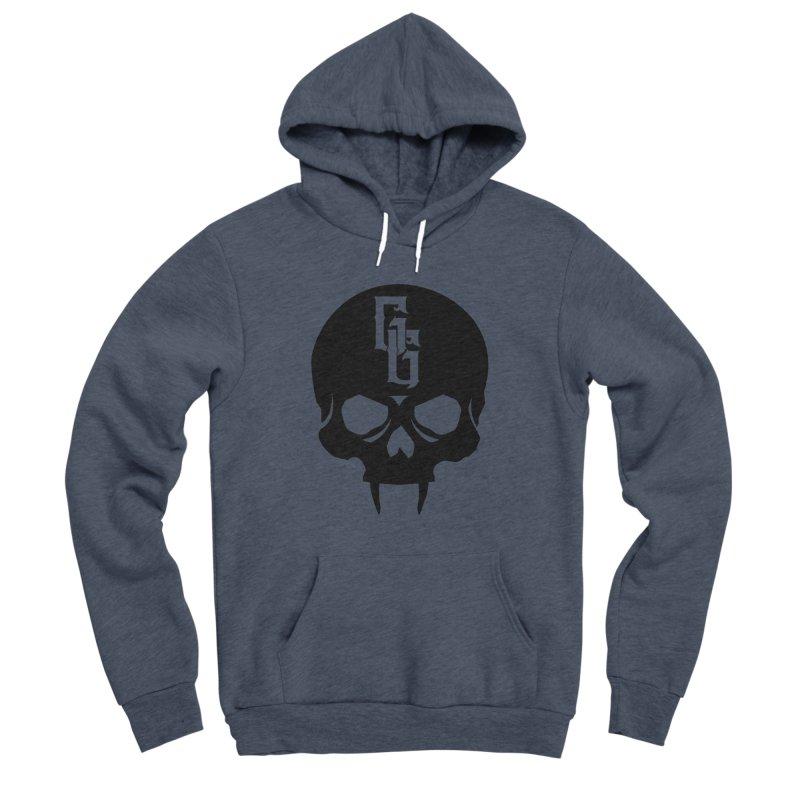 Gehenna Gaming Skull Logo (No Text) Men's Sponge Fleece Pullover Hoody by GehennaGaming's Artist Shop