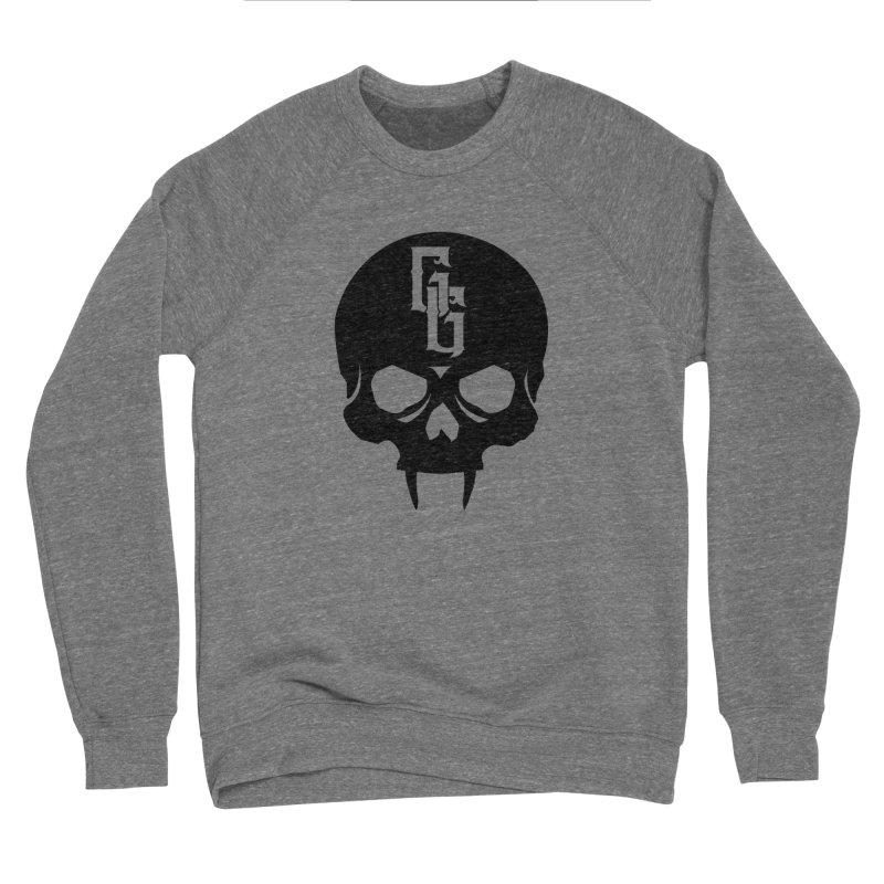Gehenna Gaming Skull Logo (No Text) Men's Sponge Fleece Sweatshirt by The Gehenna Gaming Shop