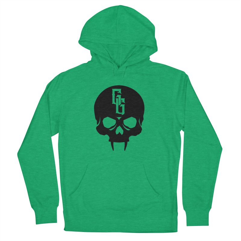 Gehenna Gaming Skull Logo (No Text) Women's French Terry Pullover Hoody by The Gehenna Gaming Shop