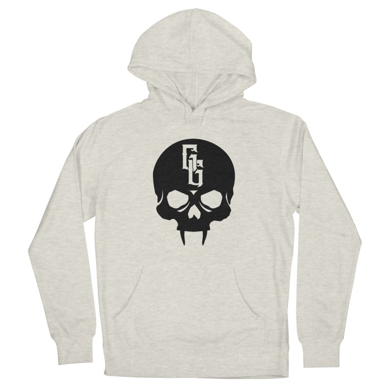 Gehenna Gaming Skull Logo (No Text) Women's French Terry Pullover Hoody by GehennaGaming's Artist Shop