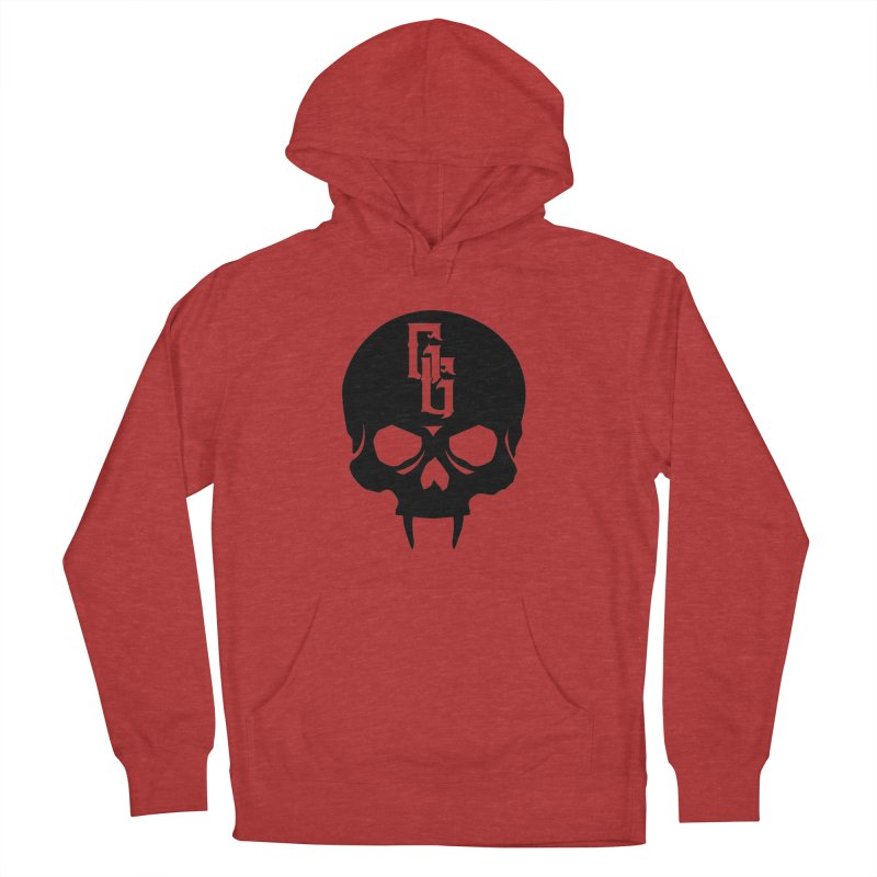 Gehenna Gaming Skull Logo (No Text) Men's French Terry Pullover Hoody by GehennaGaming's Artist Shop