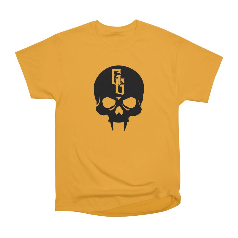 Gehenna Gaming Skull Logo (No Text) Women's Heavyweight Unisex T-Shirt by GehennaGaming's Artist Shop