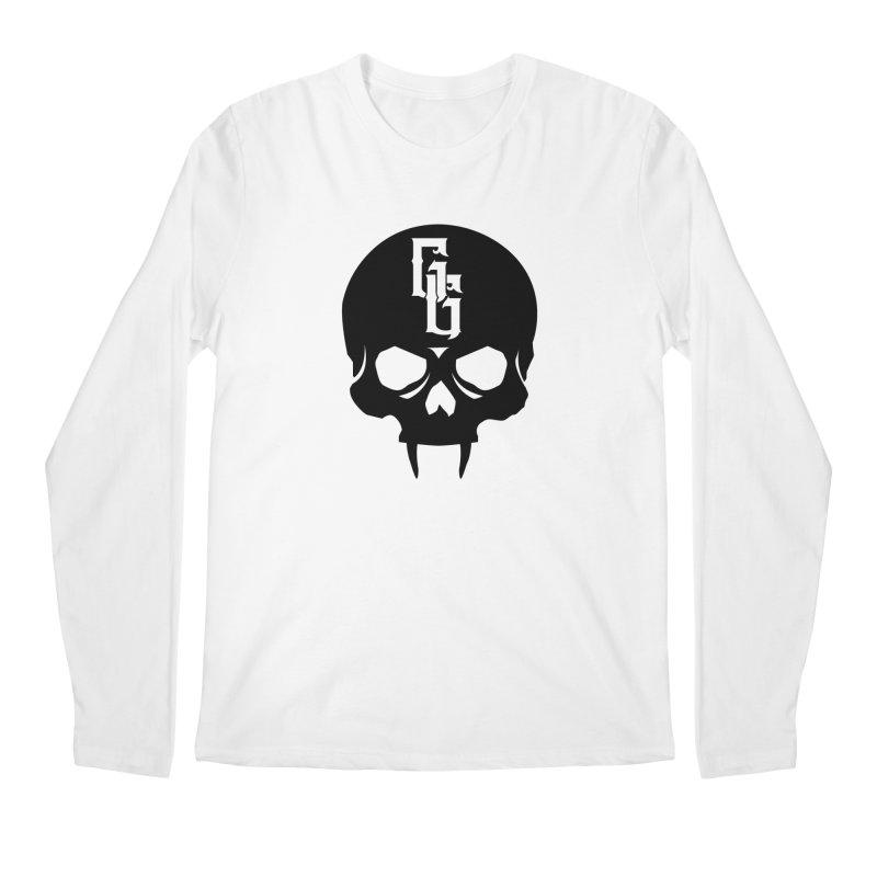 Gehenna Gaming Skull Logo (No Text) Men's Regular Longsleeve T-Shirt by The Gehenna Gaming Shop