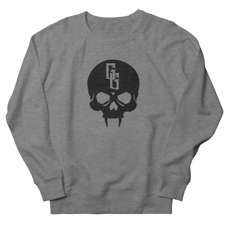 Gehenna Gaming Skull Logo (No Text) Men's French Terry Sweatshirt by The Gehenna Gaming Shop