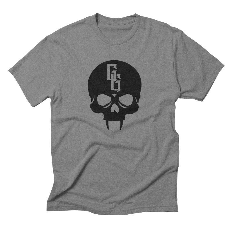 Gehenna Gaming Skull Logo (No Text) Men's Triblend T-Shirt by GehennaGaming's Artist Shop