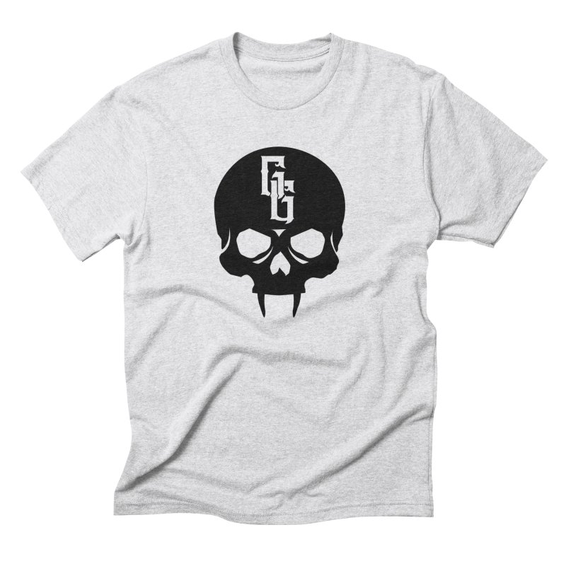 Gehenna Gaming Skull Logo (No Text) Men's Triblend T-Shirt by The Gehenna Gaming Shop