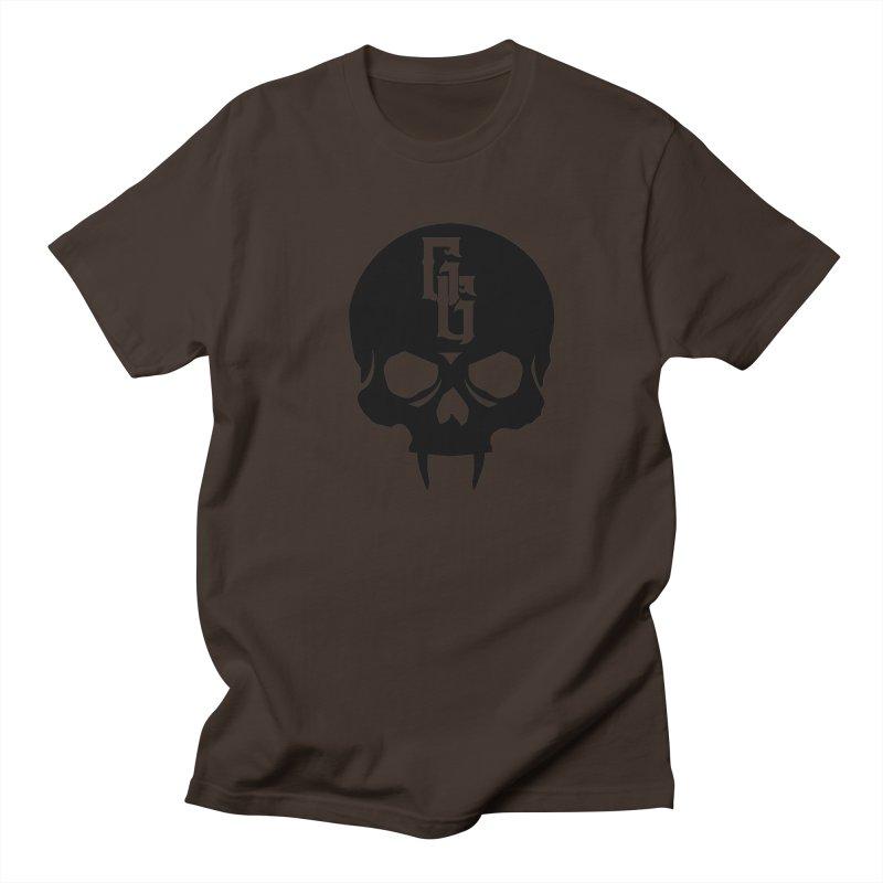 Gehenna Gaming Skull Logo (No Text) Men's Regular T-Shirt by GehennaGaming's Artist Shop