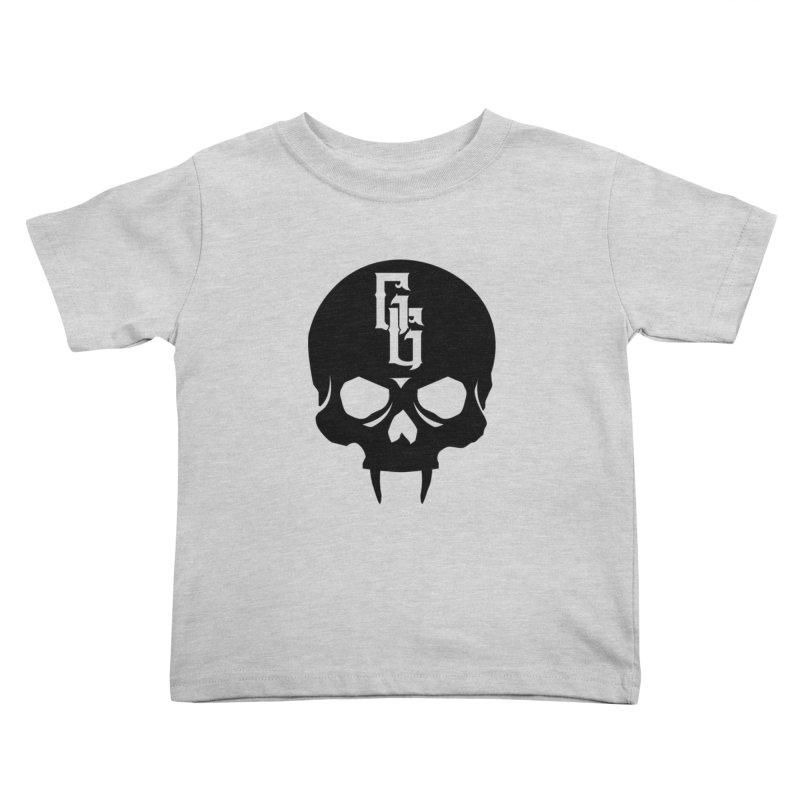 Gehenna Gaming Skull Logo (No Text) Kids Toddler T-Shirt by The Gehenna Gaming Shop