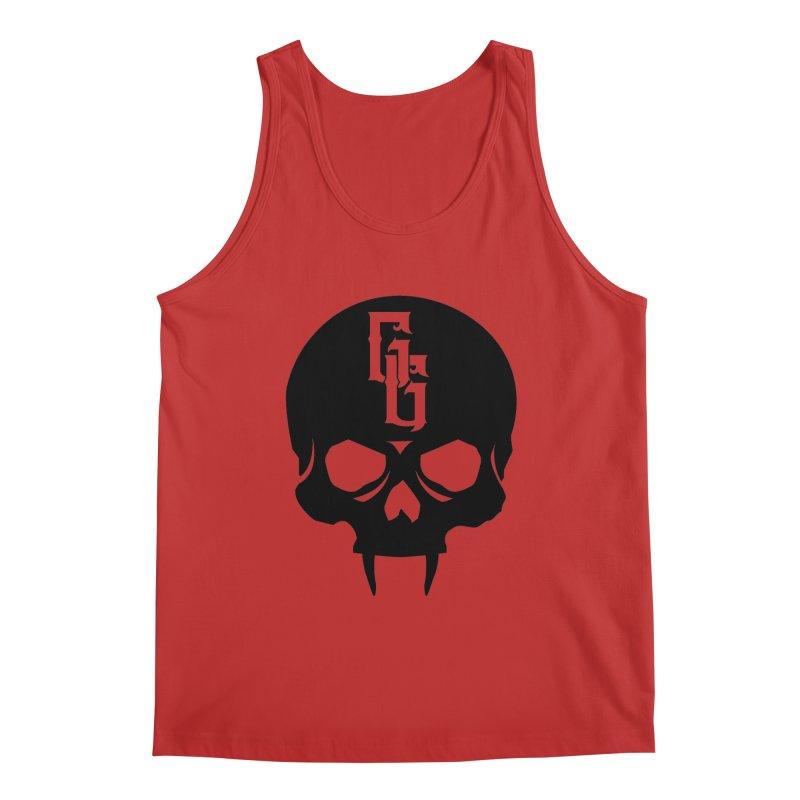 Gehenna Gaming Skull Logo (No Text) Men's Regular Tank by The Gehenna Gaming Shop