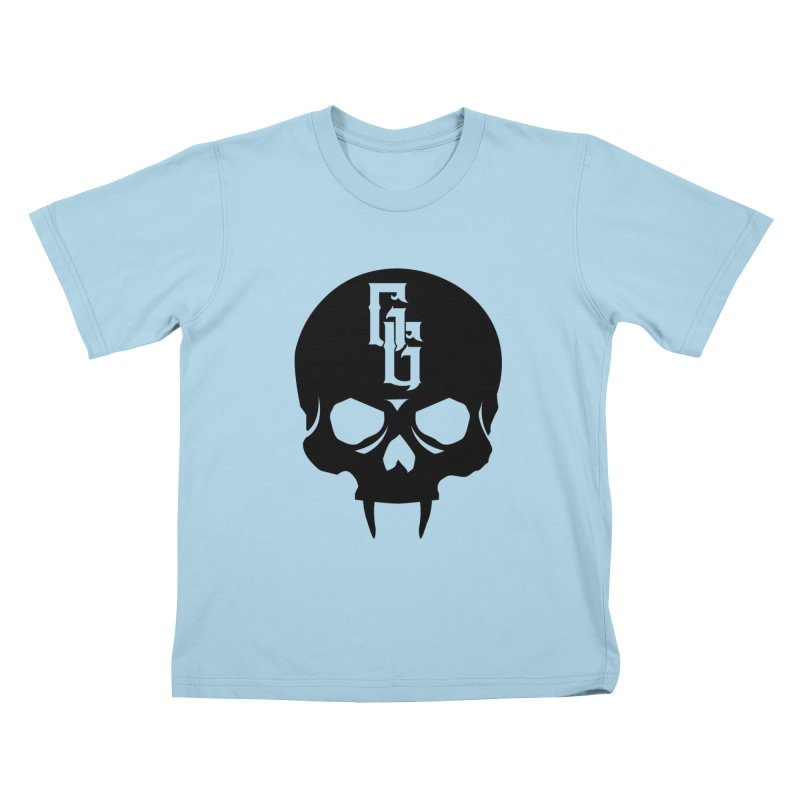 Gehenna Gaming Skull Logo (No Text) Kids T-Shirt by GehennaGaming's Artist Shop