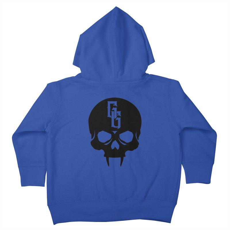 Gehenna Gaming Skull Logo (No Text) Kids Toddler Zip-Up Hoody by GehennaGaming's Artist Shop