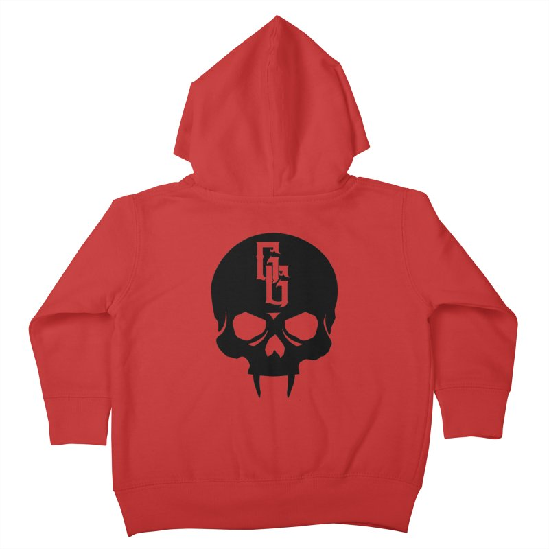 Gehenna Gaming Skull Logo (No Text) Kids Toddler Zip-Up Hoody by The Gehenna Gaming Shop