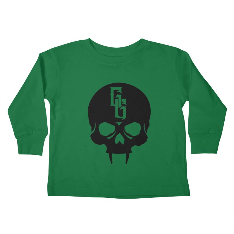 Gehenna Gaming Skull Logo (No Text) Kids Toddler Longsleeve T-Shirt by GehennaGaming's Artist Shop