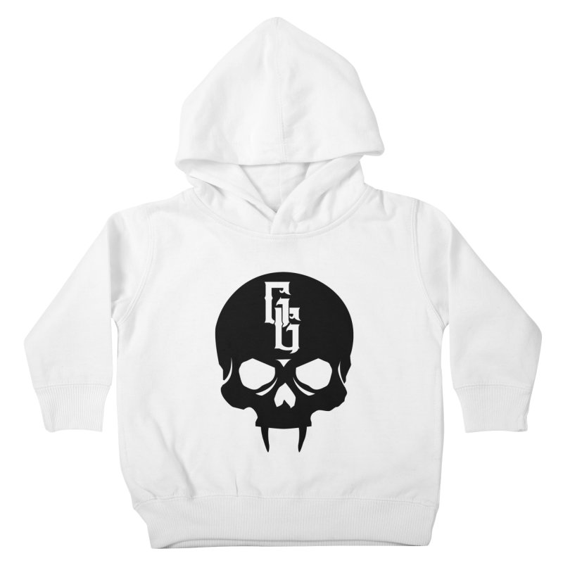 Gehenna Gaming Skull Logo (No Text) Kids Toddler Pullover Hoody by The Gehenna Gaming Shop