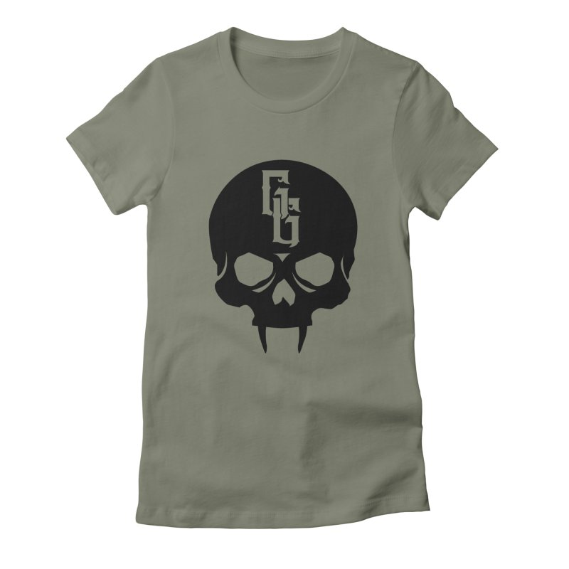 Gehenna Gaming Skull Logo (No Text) Women's Fitted T-Shirt by GehennaGaming's Artist Shop
