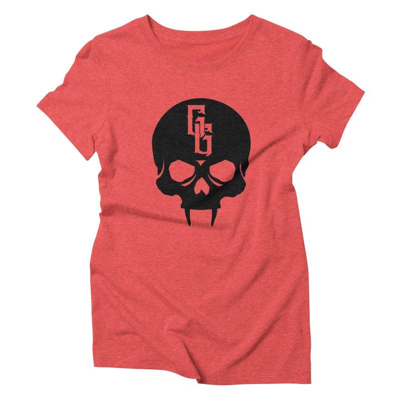 Gehenna Gaming Skull Logo (No Text) Women's Triblend T-Shirt by GehennaGaming's Artist Shop