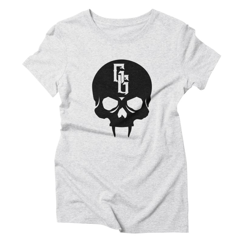 Gehenna Gaming Skull Logo (No Text) Women's Triblend T-Shirt by The Gehenna Gaming Shop