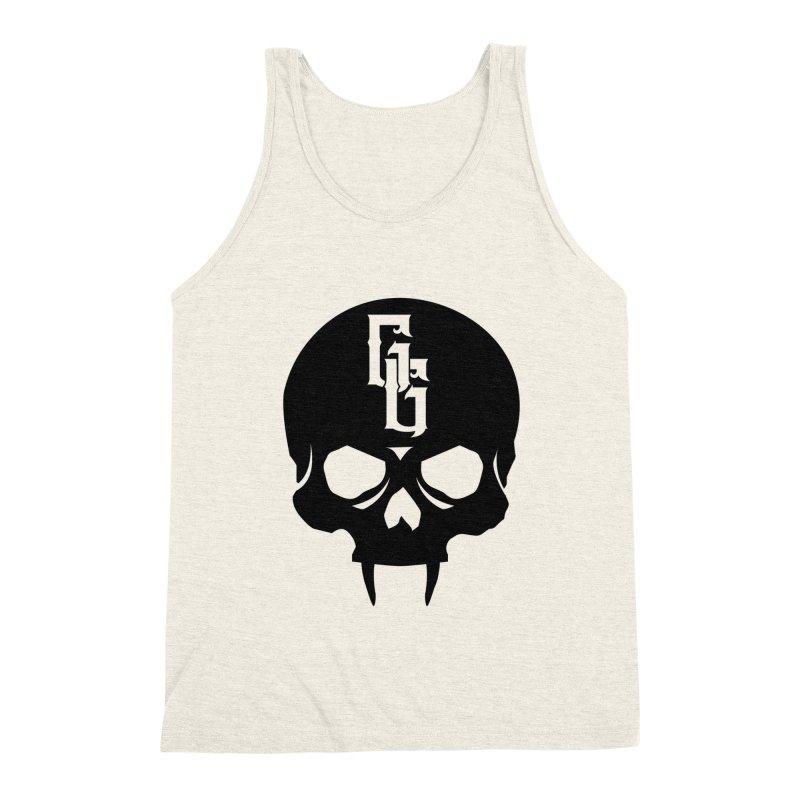 Gehenna Gaming Skull Logo (No Text) Men's Triblend Tank by GehennaGaming's Artist Shop
