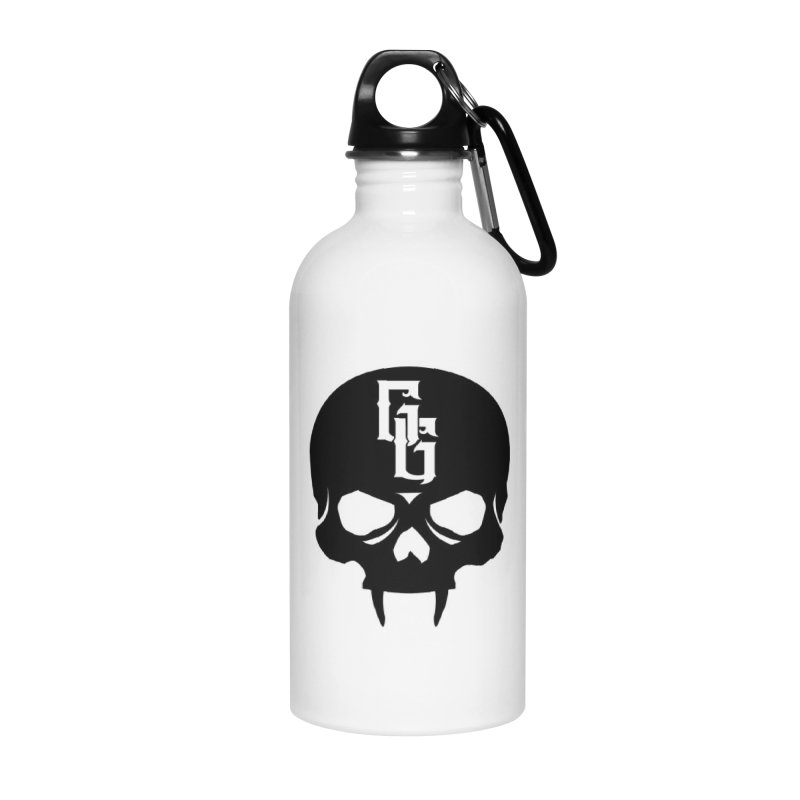Gehenna Gaming Skull Logo (No Text) Accessories Water Bottle by GehennaGaming's Artist Shop