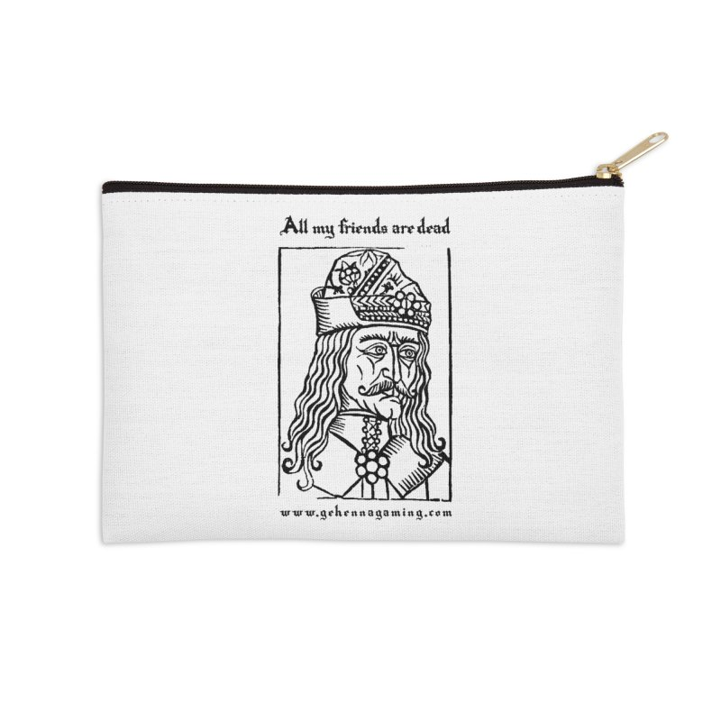 All My Friends Are Dead Accessories Zip Pouch by GehennaGaming's Artist Shop