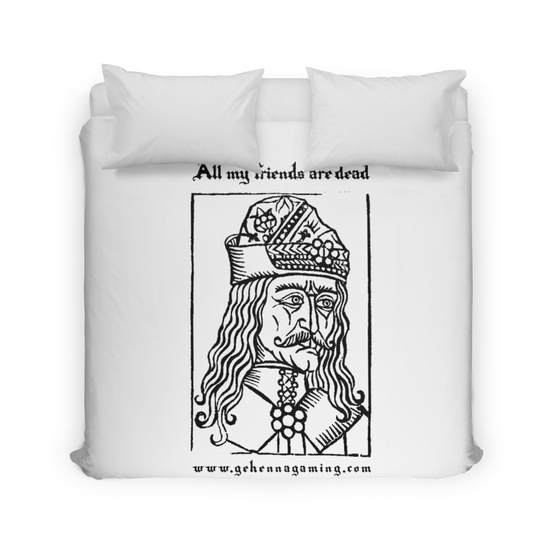 All My Friends Are Dead Home Duvet by GehennaGaming's Artist Shop