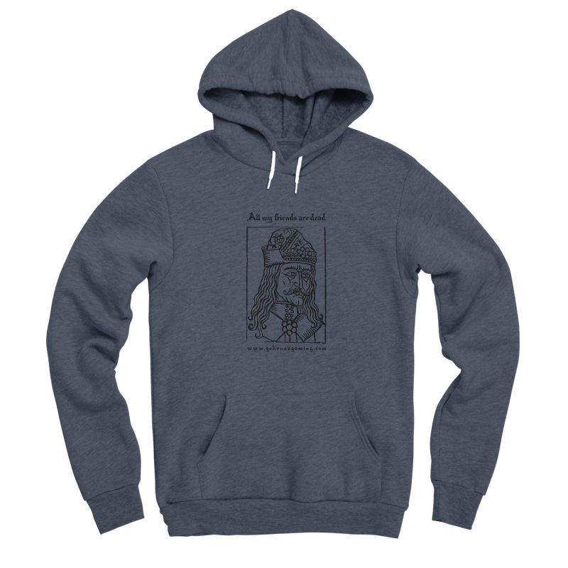 All My Friends Are Dead Men's Sponge Fleece Pullover Hoody by The Gehenna Gaming Shop