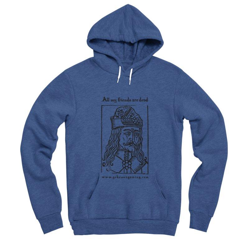 All My Friends Are Dead Men's Sponge Fleece Pullover Hoody by GehennaGaming's Artist Shop