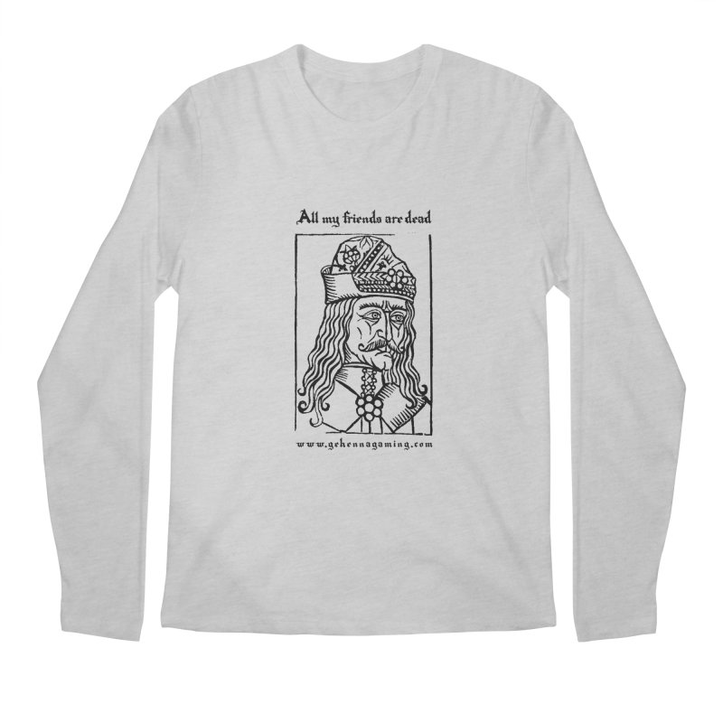 All My Friends Are Dead Men's Regular Longsleeve T-Shirt by GehennaGaming's Artist Shop